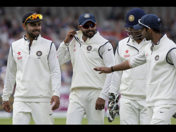 File photo: Indian players during a Test