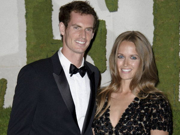 File photo: Andy Murry with Kim Sears
