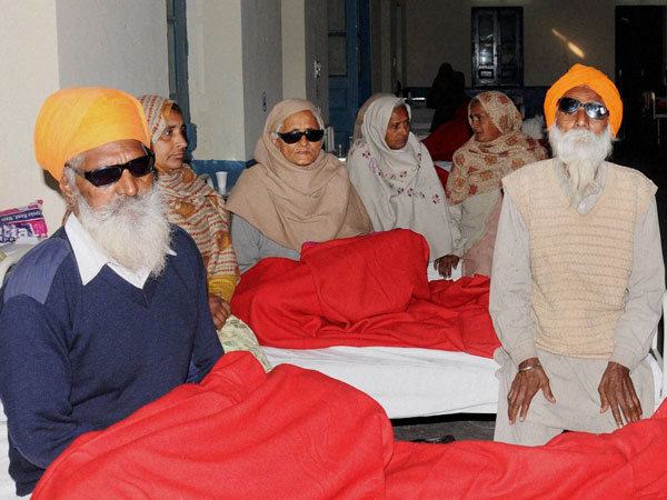 NHRC issues notice to Punjab on 60 losing eyesight.
