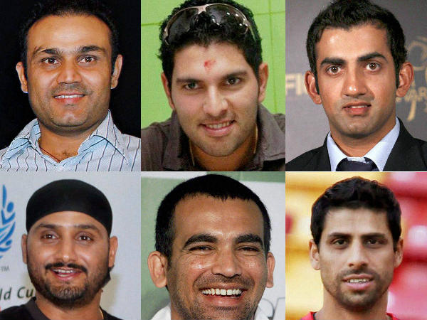 No place in WC squad for Sehwag, Yuvraj, Gambhir, Harbhajan, Zaheer and Nehra