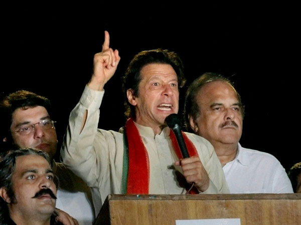 Pak Min urges Imran to end sit-in