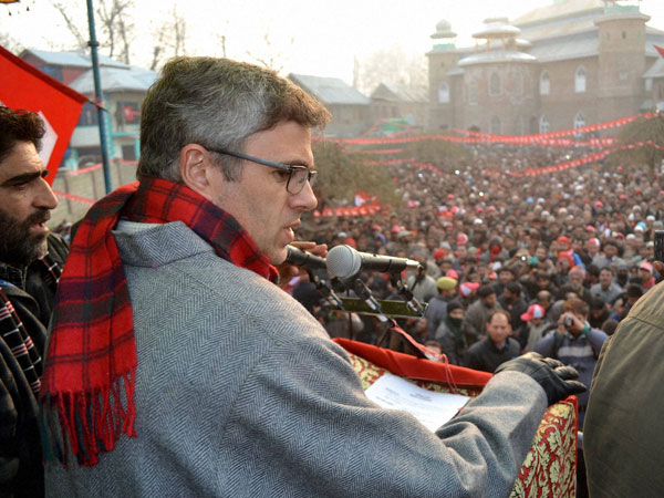 Omar attacks PM Modi's Srinagar rally