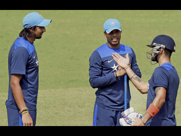 Kohli will rely on Ishant (left) and Umesh (centre)