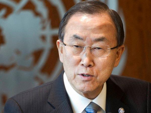 UN chief Ban-Ki-moon