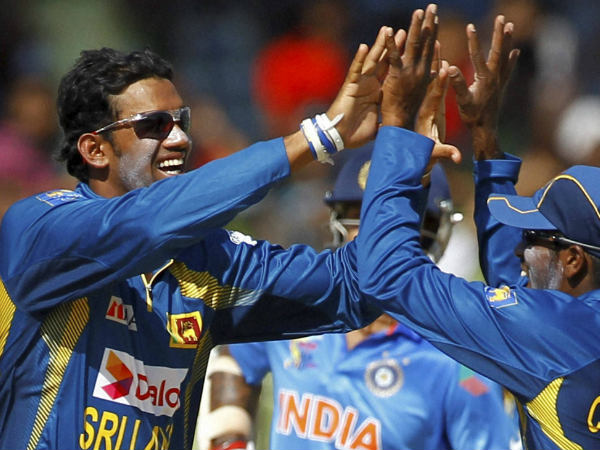Senanayake (left) is cleared to bowl