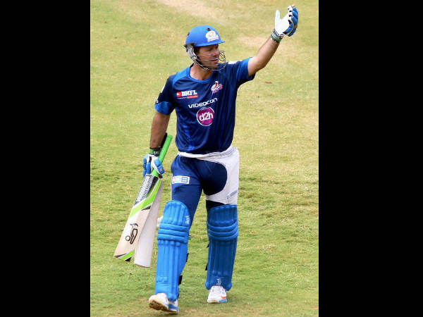 File photo: Ricky Ponting in MI coloours
