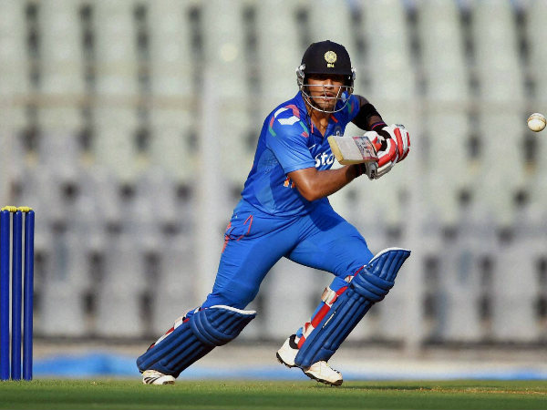 Unmukt Chand was dismissed in Delhi's small chase of 16