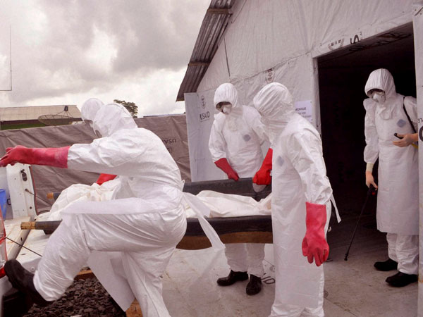 Ebola fighters win Time's title