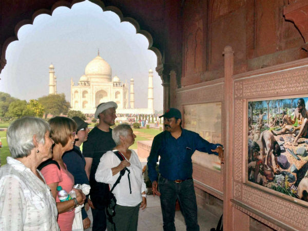 Minister of State for Tourism Mahesh Sharma said around 32.05 lakh foreign tourists visited India during May to October this year.