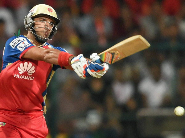 Yuvraj has been released by RCB after signing him for Rs 14 crores last year