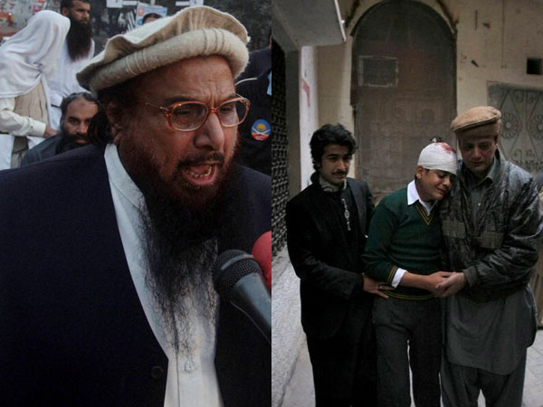 School attack: Hafeez Saeed condemns act