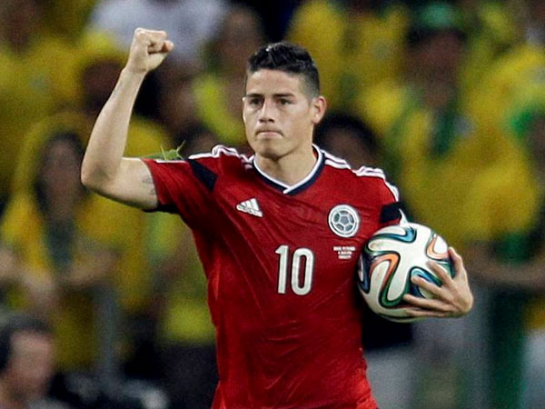 Official: James Rodriguez joins Bayern Munich on loan