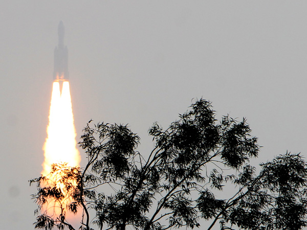 GSLV III is launched