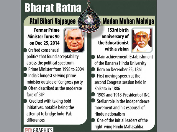 Cong welcomes govt's Bharat Ratna move