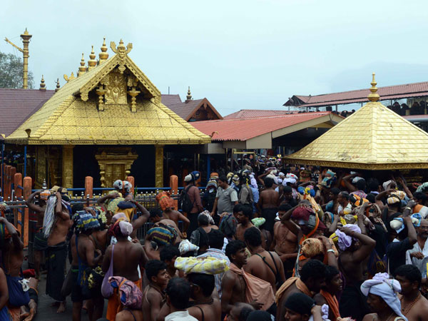 collections go up in Sabarimala temple