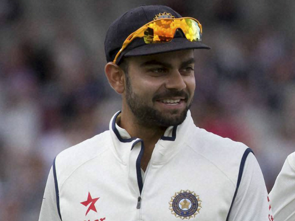 Kohli and Johnson were involved in a verbal duel