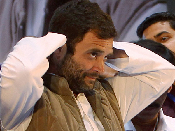 Rahul absent on Cong Foundation Day
