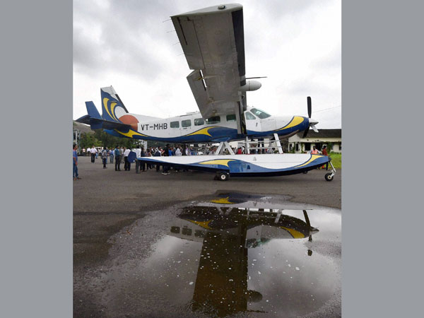 Seaplane service between Mumbai and Lonavala launched