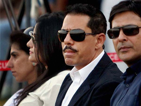 Sonia Gandhi's son-in-law Robert Vadra