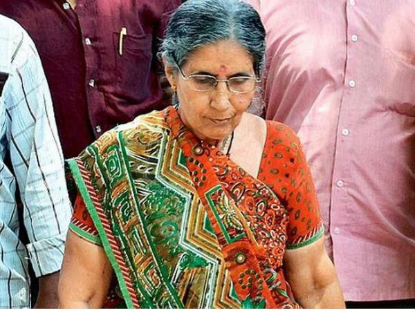 PM's wife Jashodaben