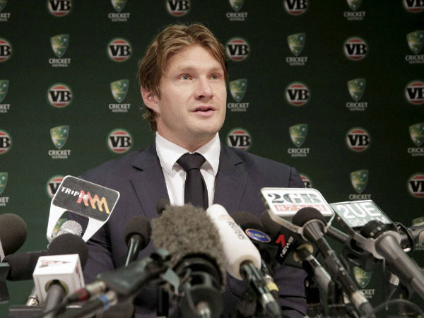 File picture of Shane Watson