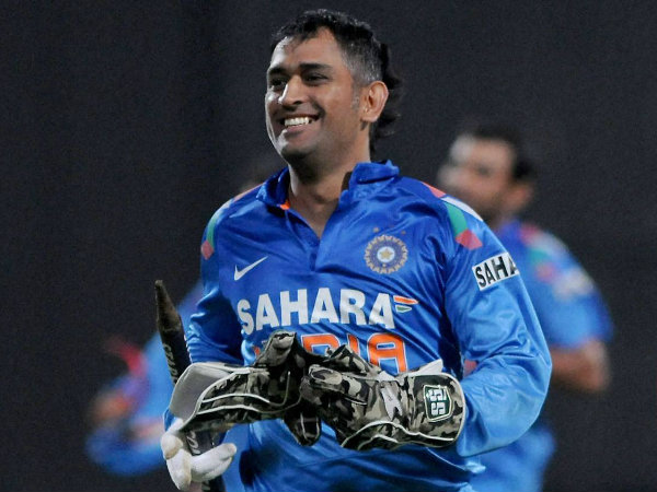 MS Dhoni set to captain India in a World Cup for the second time