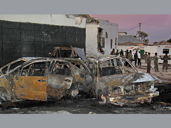 Al Shabab claims responsibility for Somalia attack