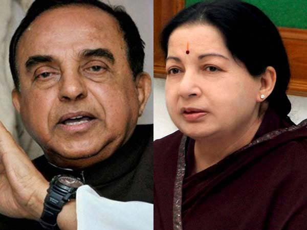 Jayalalithaa's DA case: Get Karnataka HC order to argue in this case, SC tells Swamy.