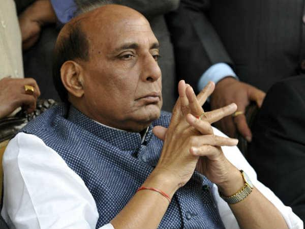 People in Pak boat were suspected terrorists: Rajnath