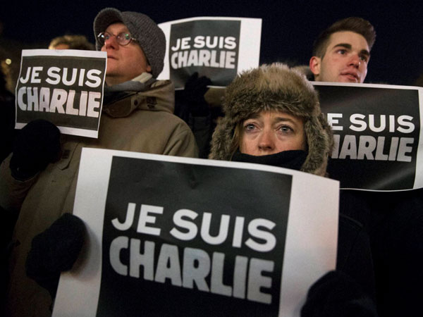 The fearless editor of Charlie Hebdo