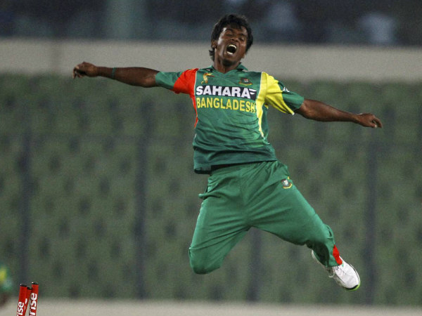 File picture of Rubel Hossain during an ODI