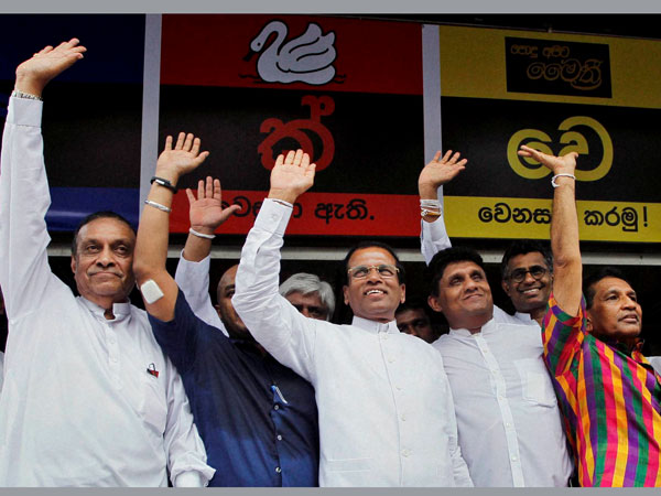 Swamy vary of Sirisena's rise in Lanka
