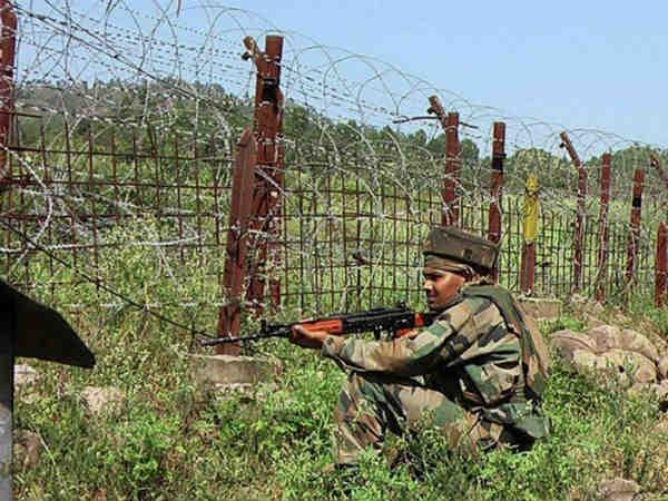 Firing exchanges between Rangers, BSF in Samba sector.
