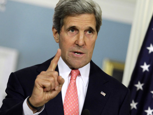 John Kerry skipped Paris march for 'important work' in India.