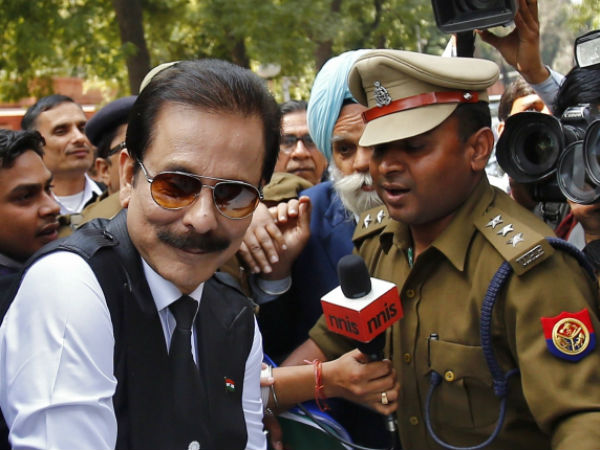 Sahara chief back in special facility at Tihar.