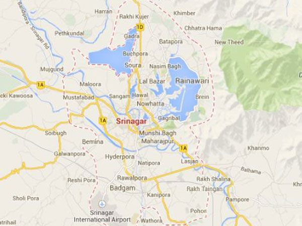 Sopore: Militant holed up in house