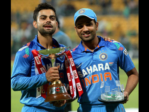 File photo: Kohli and Rohit