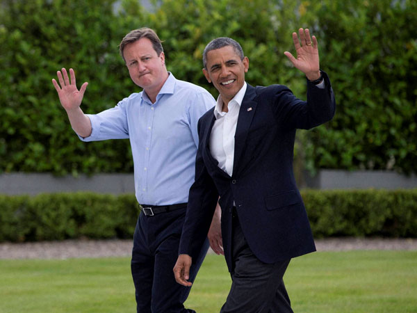 Cameron, Obama to work against extremism