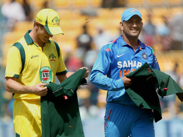 File photo: Bailey (left) and Dhoni