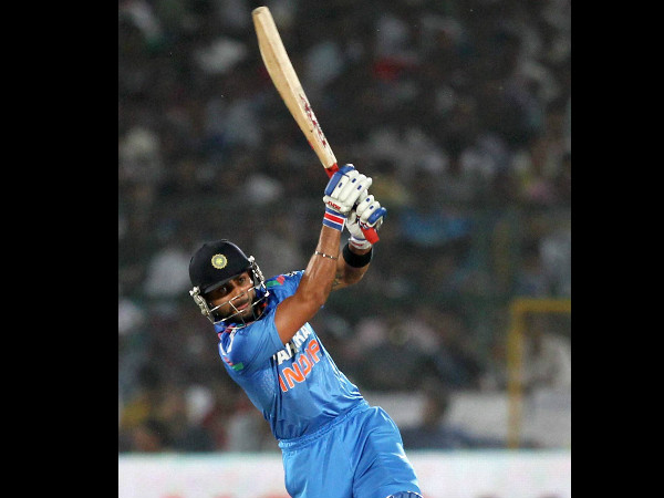 Virat Kohli will hope to continue his red-hot form