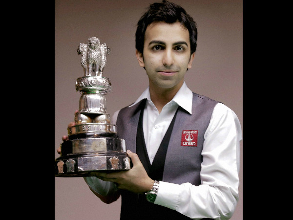 A file picture of Pankaj Advani
