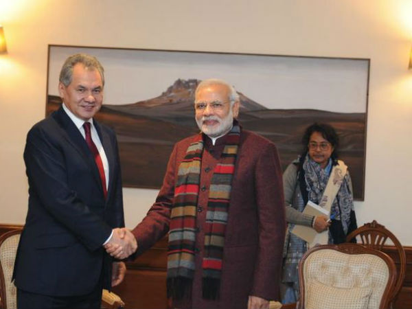 Russian Defence Minister meets Modi