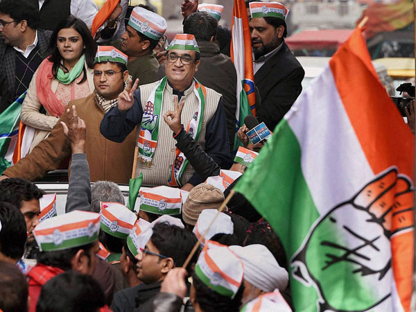 Ajay Maken files nomination from Sadar B