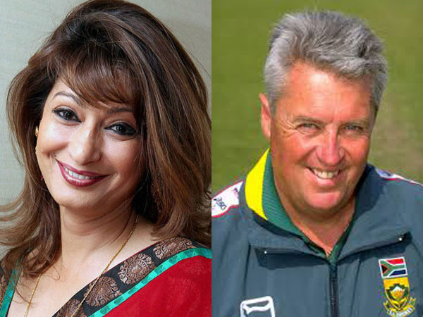 Sunanda and Bob Woolmer