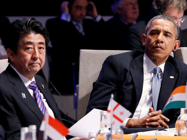 Obama and Japan PM