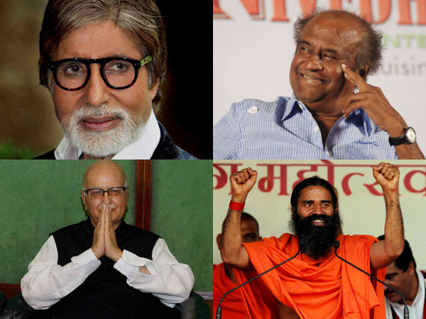 Advani, Big B in Padma awards list