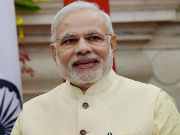PM Modi congratulates bankers for success of Pradhan Mantri Jan Dhan Yojana.