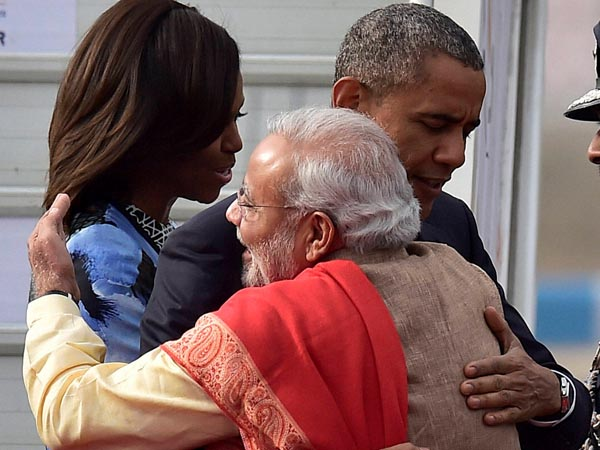 Obama: Great honour to be back in India