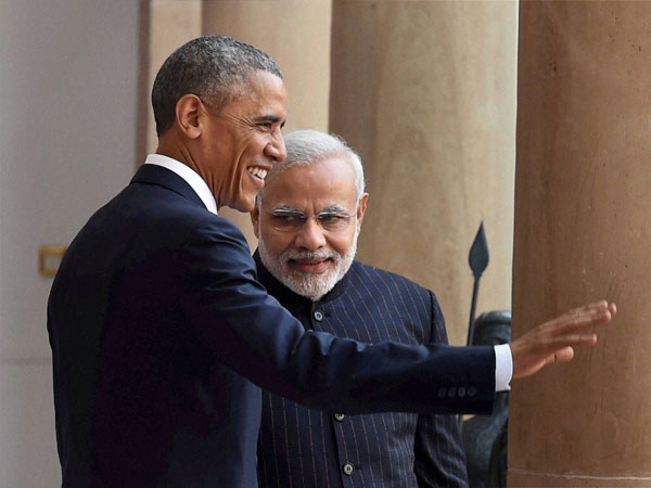 Hotline Modi and Obama