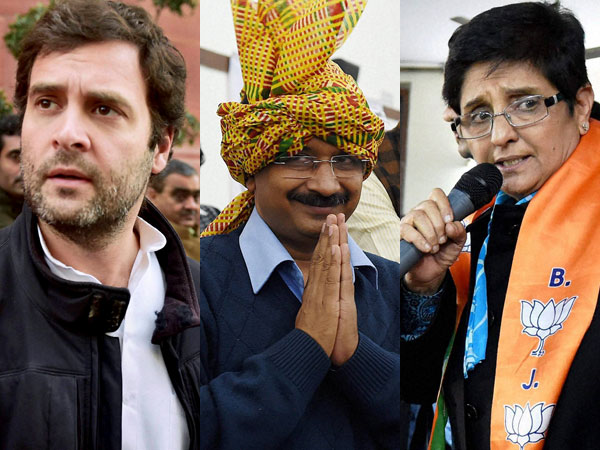 Delhi: Cong, AAP and BJP to hold rallies